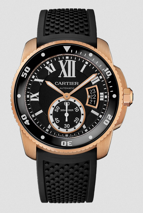 The Calibre de Cartier Diver