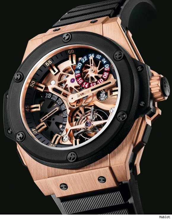 TOP SWISSS HUBLOT KING POWER TOURBILLON REPLICA WATCHES REVIEW