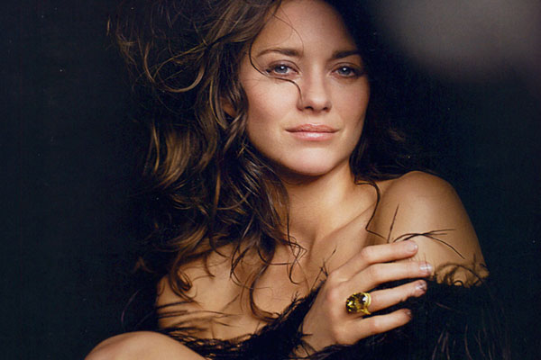 Marion Cotillard as best Chopard replica fine jewelry design