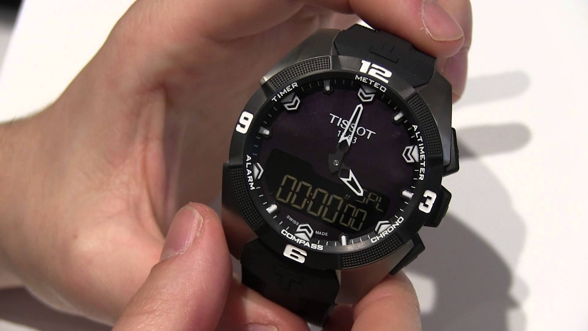 Swiss Tissot T-Touch Expert Solar Replica Watch Review