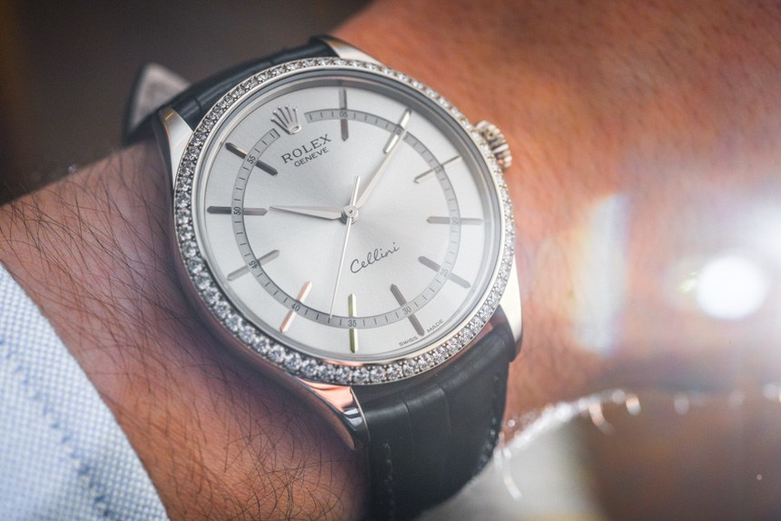 Introducing Rolex Cellini Time Diamond-Set Bezel Replica Swiss Watch