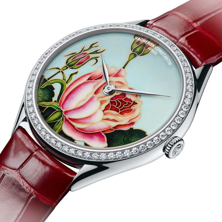 Vacheron Constantin replica watches capture the ephemeral great thing about flowers