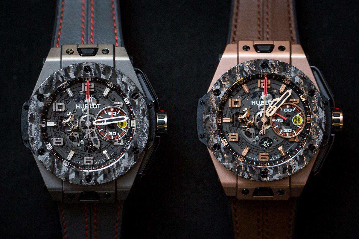 Hublot Big Bang Ferrari King Gold Carbon Replica Watch Releases