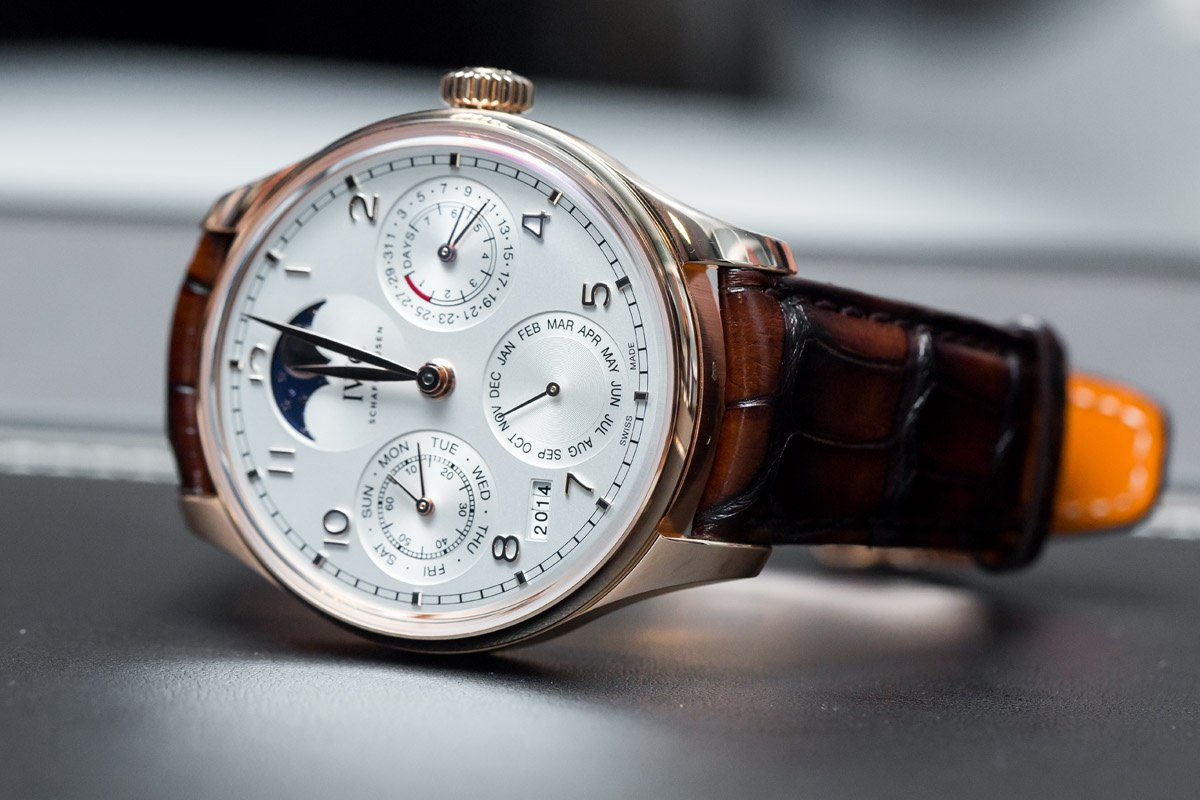 Comparing the old and new IWC Portugieser Perpetual Calendar Replica Watch