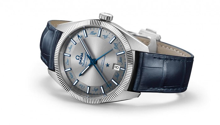 The Pretty Omega Globemaster Annual Calendar Replica Watch Releases