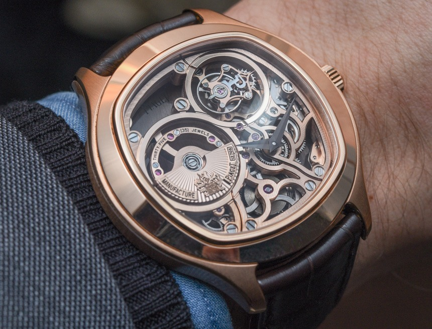 Piaget Emperador Cushion Tourbillon Automatic Skeleton Replica Watch Hands-On