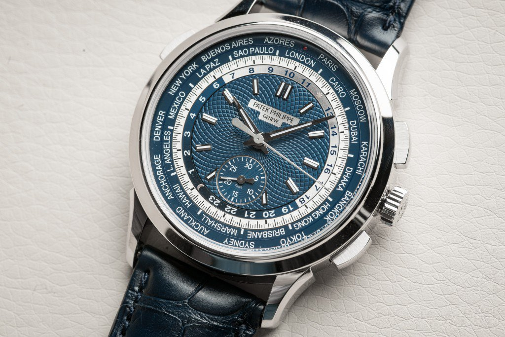 Highlights From The Patek Philippe World Time Chronograph Replica Watch
