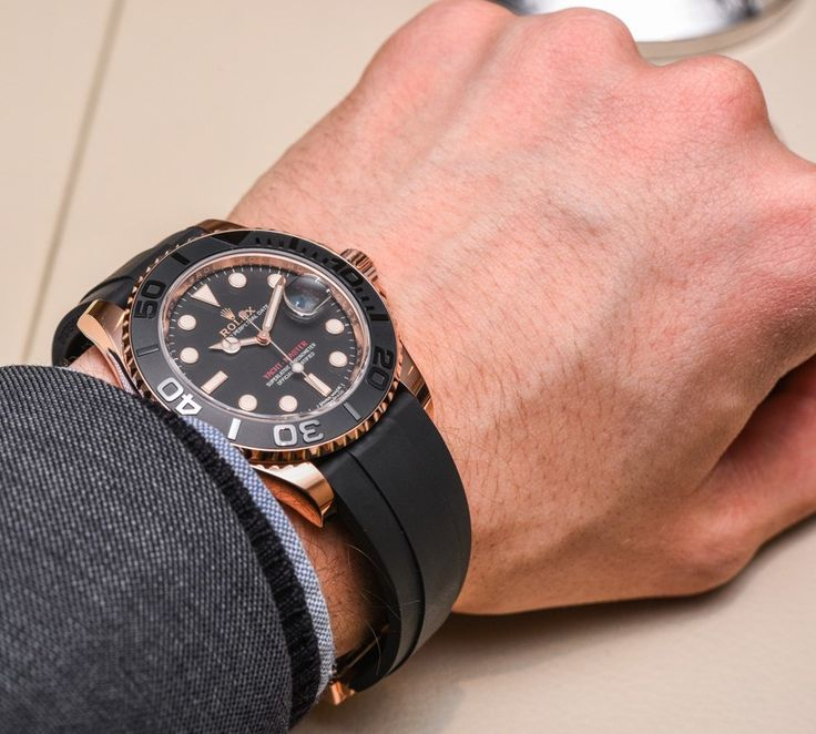Newest Replica Rolex Watches - Everose Yachtmaster 116655