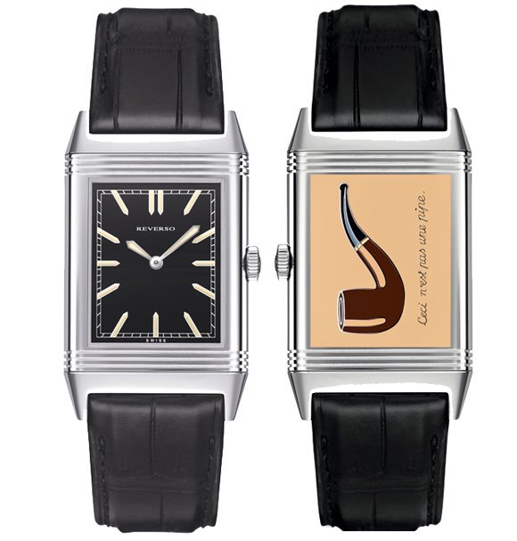 Jaeger-LeCoultre Debuts the Special And Classic Reverso Replica Watch For Rene Magritte