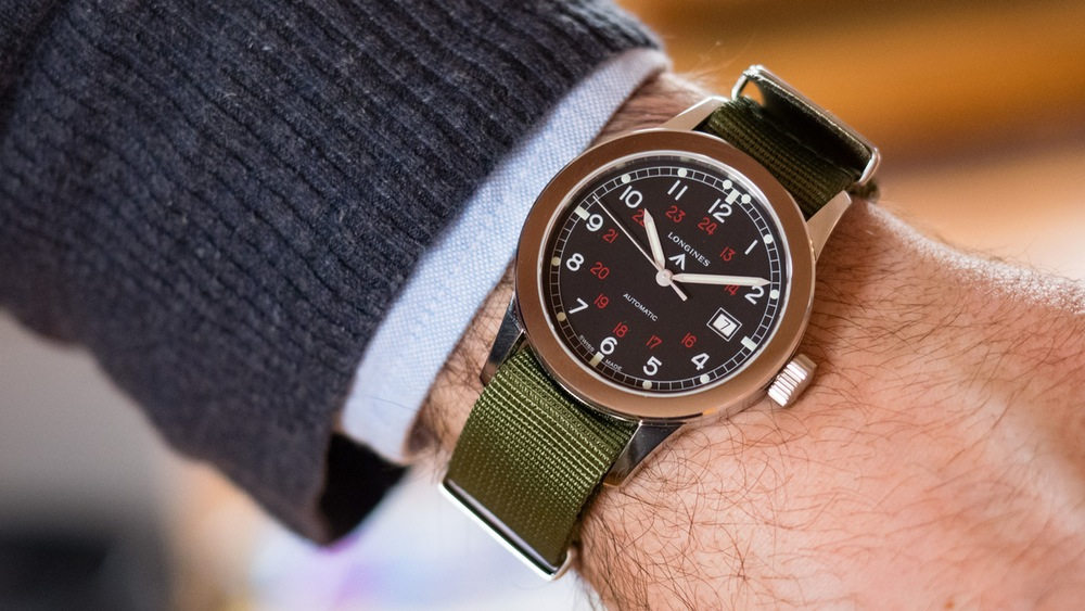 Reviewing The Casual, High Quality And Cheap Longines Heritage Military COSD Replica Watch