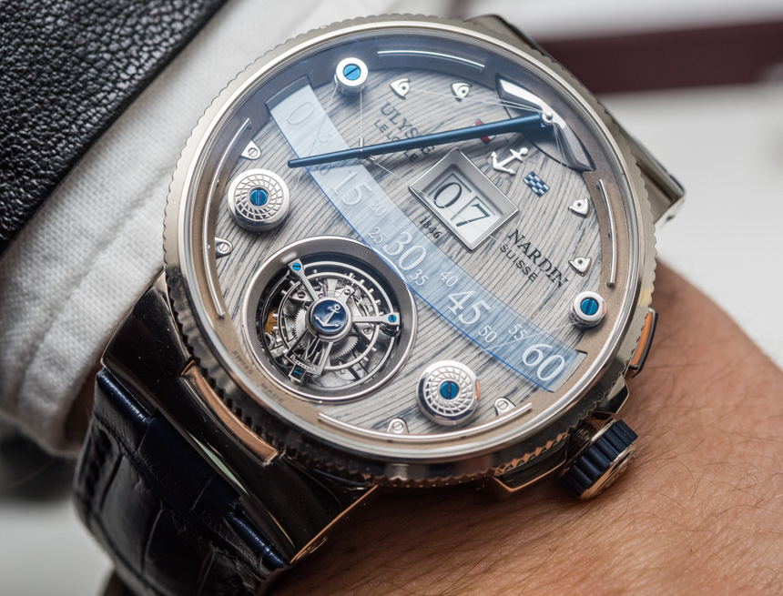 Full Review With The Special, Creative And Impressive Ulysse Nardin Grand Deck Marine Tourbillon Replica Watch