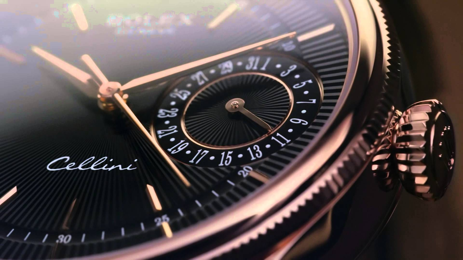 Hands On Rolex Cellini Replica Rose Gold Watches With Rose Gold Case