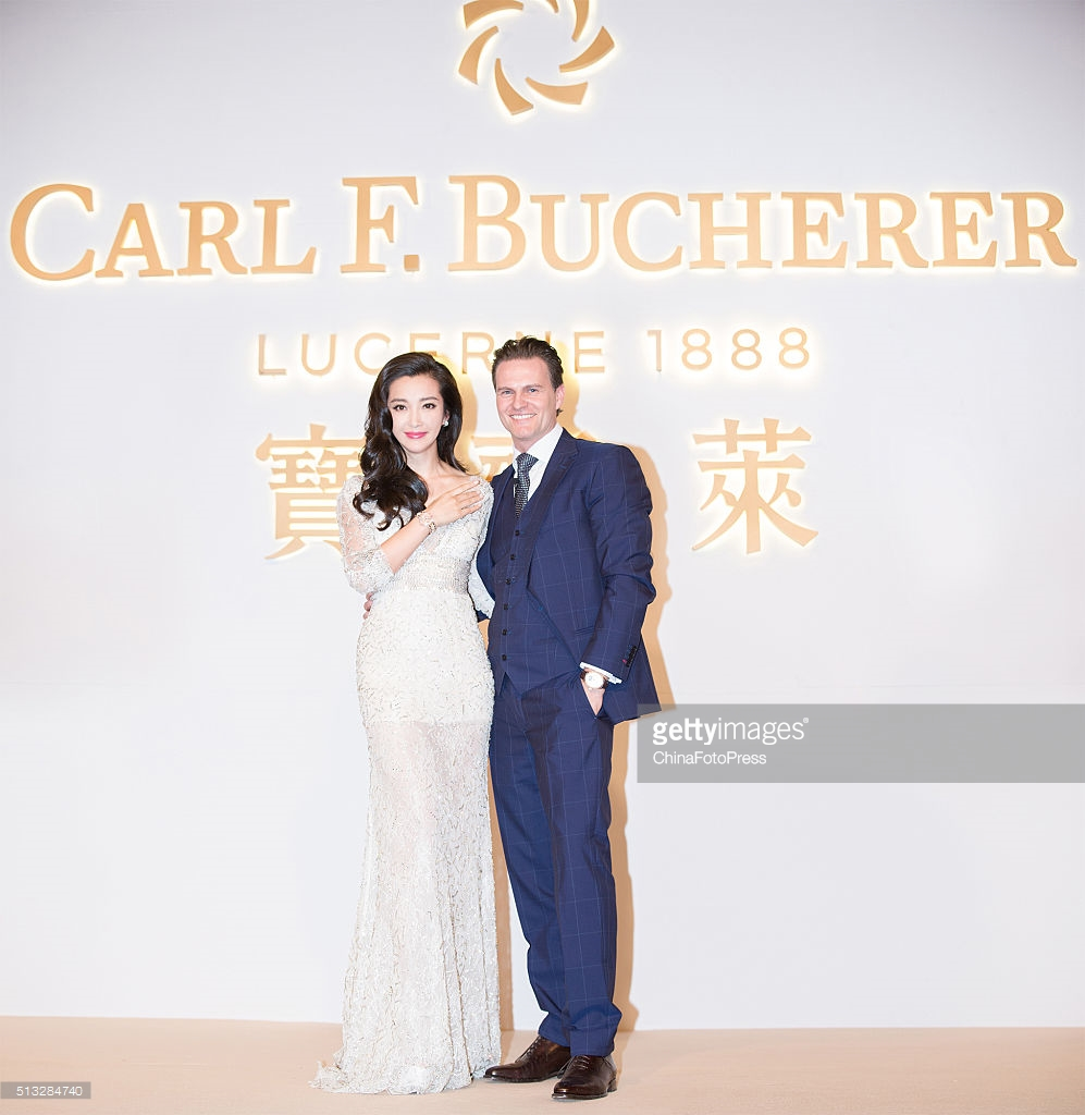 Luxury Bucherer Watch spokesperson–Chinese Famous Actress Li Bingbing