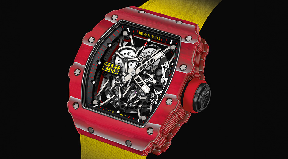 The New Richard Mille RM 35-02 On Rafa's Wrist Replica Watch