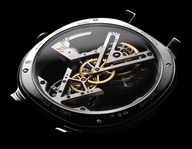 Take A Look At The Louis Vuitton Earns Tourbillon Volant Poinçon De Genève Replica