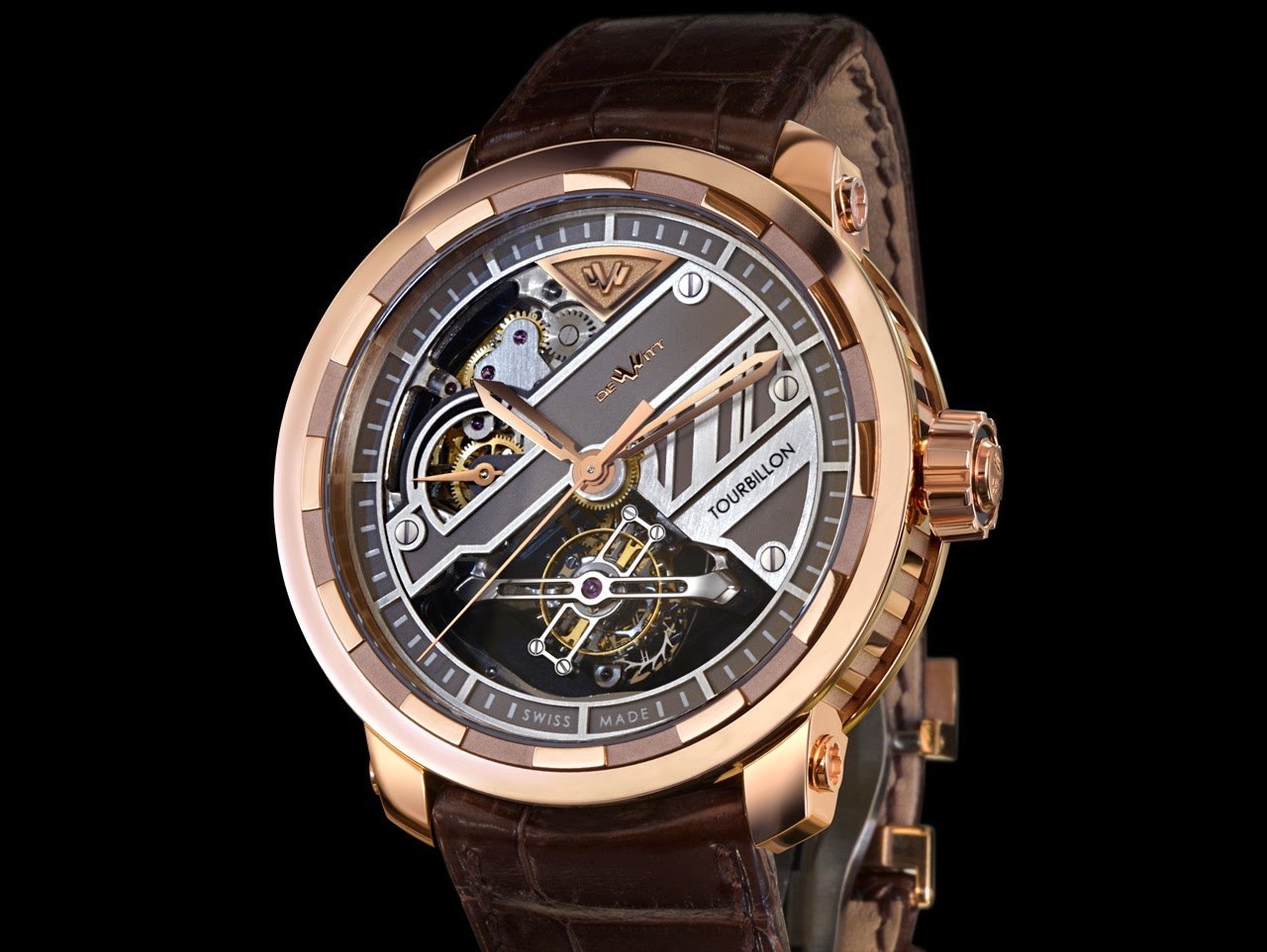 Show You The DeWitt Twenty-8-Eight Tourbillon Prestige 43mm Replica