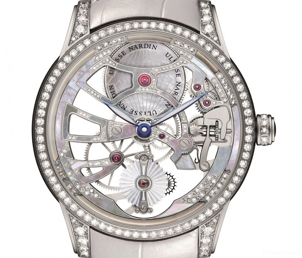 "The limited edition Ulysse Nardin Skeleton Tourbillon ""Pearl"" 44mm Replica"
