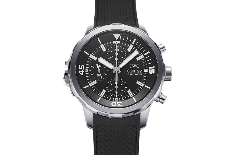 Hands-on With IWC Aquatimer Chronograph Iw376804 Mens Replica