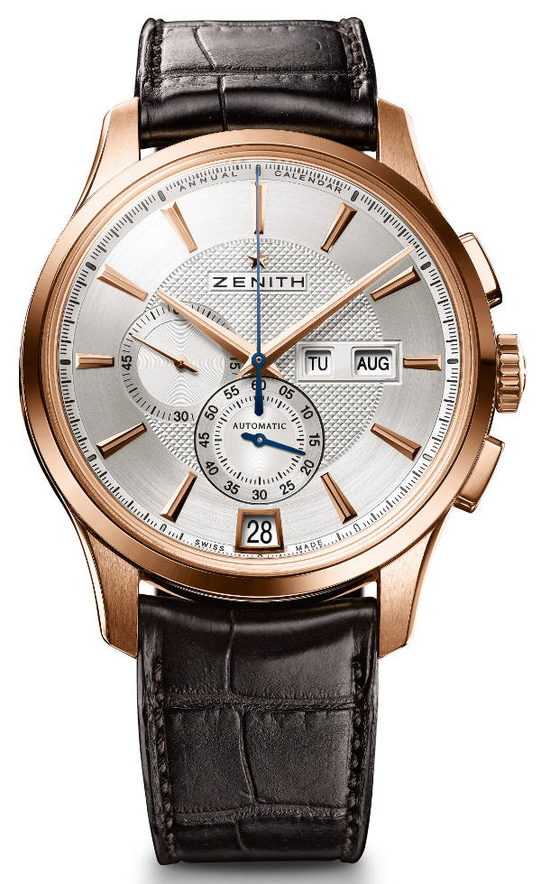Detailed Review With The Zenith Captain Winsor Annual Calendar Replica