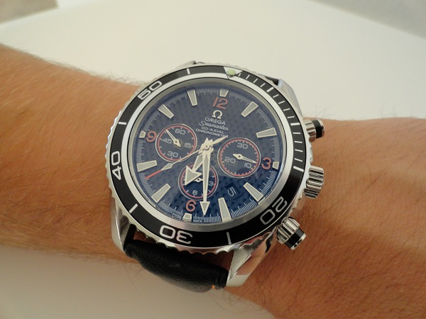 Hands-On With Omega Seamaster Planet Ocean Chrono Replica