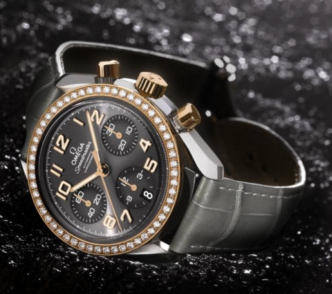 Omega Speedmaster With Gold Dial Replica Watches For Sale