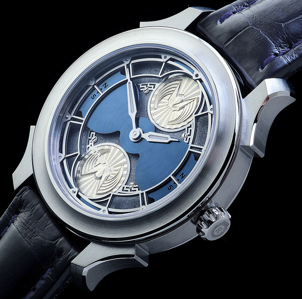 Limited Edition Watch Series:Rönkkö Icarus Silver Sky Replica