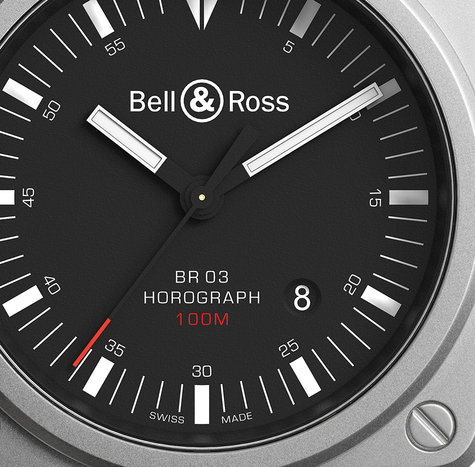 A Elegant Timepiece Of Bell & Ross BR 03 Horograph Men's Replica