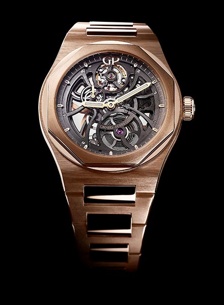 A Charming Watch On Your Wrist:Girard Perregaux Laureato Skeleton Replica