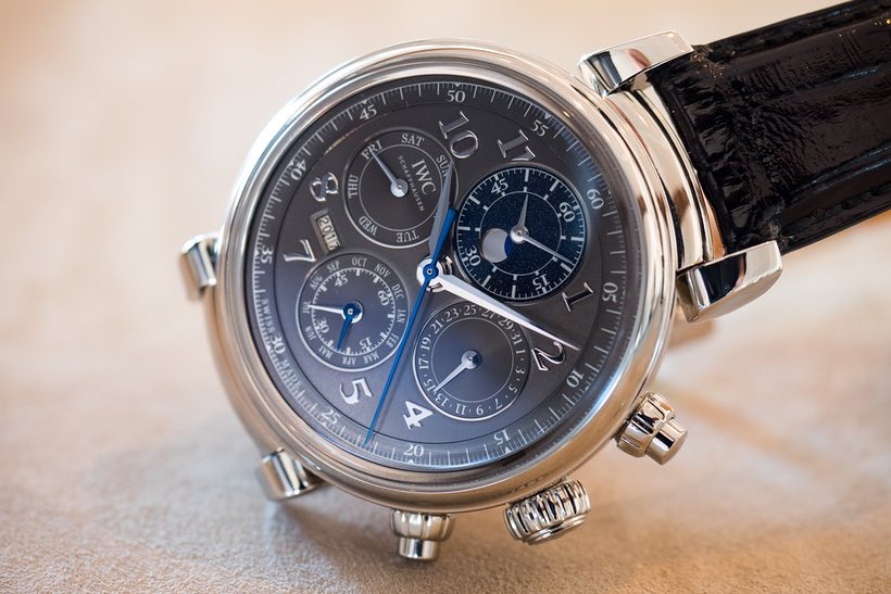 Show You The IWC Da Vinci Perpetual Calendar Chronograph In Steel Replica