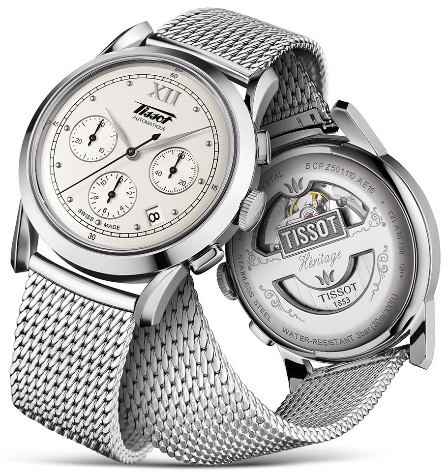 A Elegant Timepiece Of Tissot Heritage 1948 Chronograph Replica