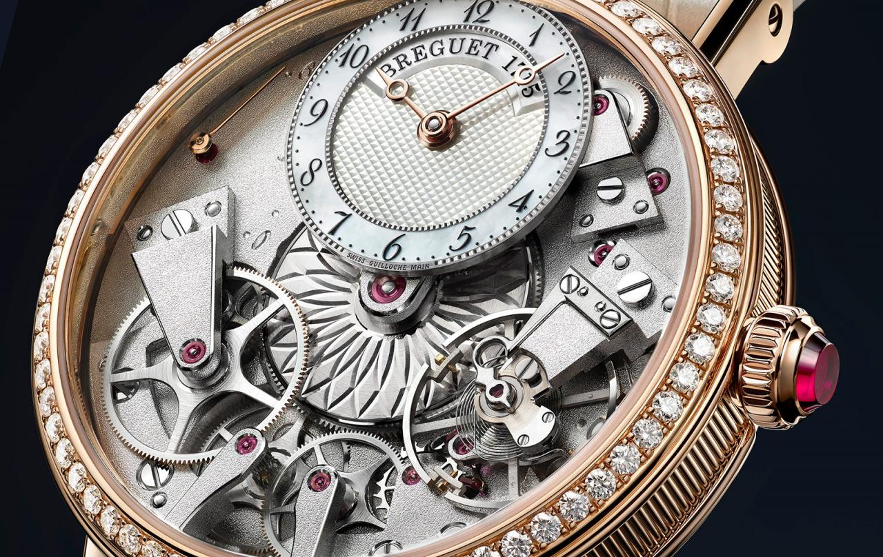 Breguet Tradition Dame 7038 rose gold 1
