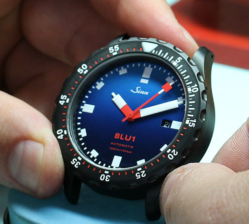 Sinn BLU1 Limited Edition Watch For Page & Cooper Watch Releases