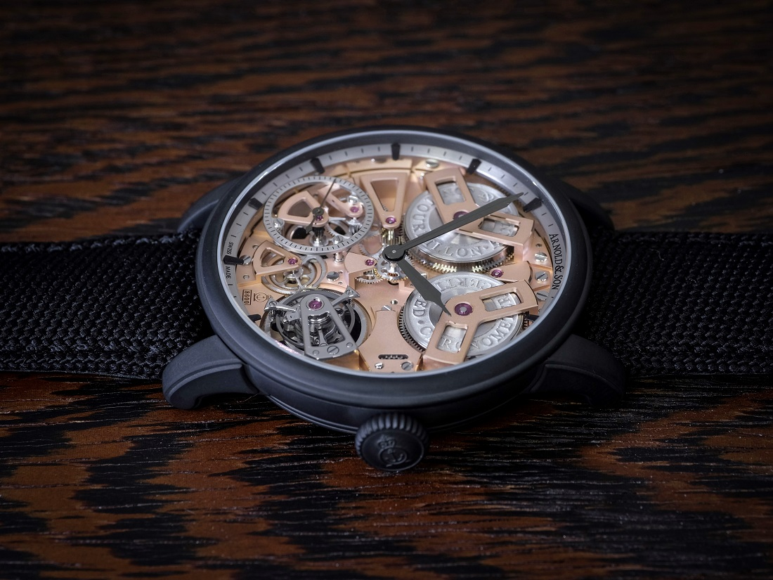 Arnold & Son Tourbillon Chronometer No. 36 Gunmetal Watch Watch Releases
