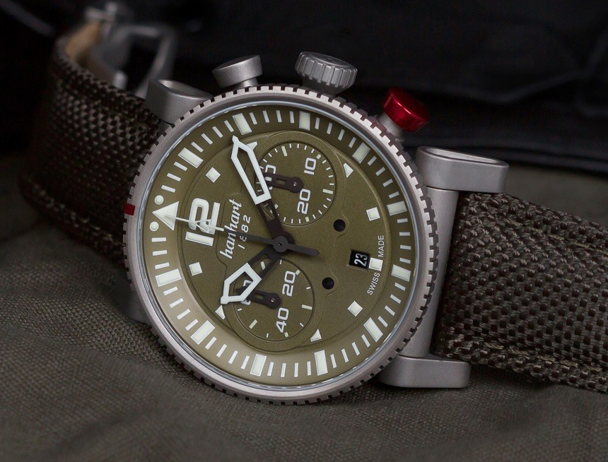 Replica Hanhart Primus Survivor Pilot Watch