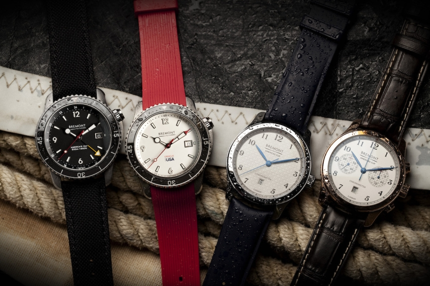 Replica Bremont America's Cup Collection With Four New Watches