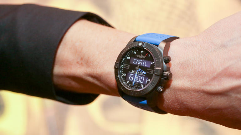 Breitling Exospace B55 Connected Replica Smartwatch Testing