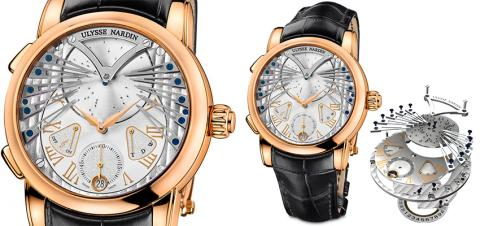 Ulysse nardin Luxury musical replica timepiece