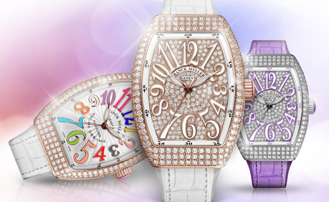 Wrists On Elegant Franck Muller Replica Vanguard Lady Watch