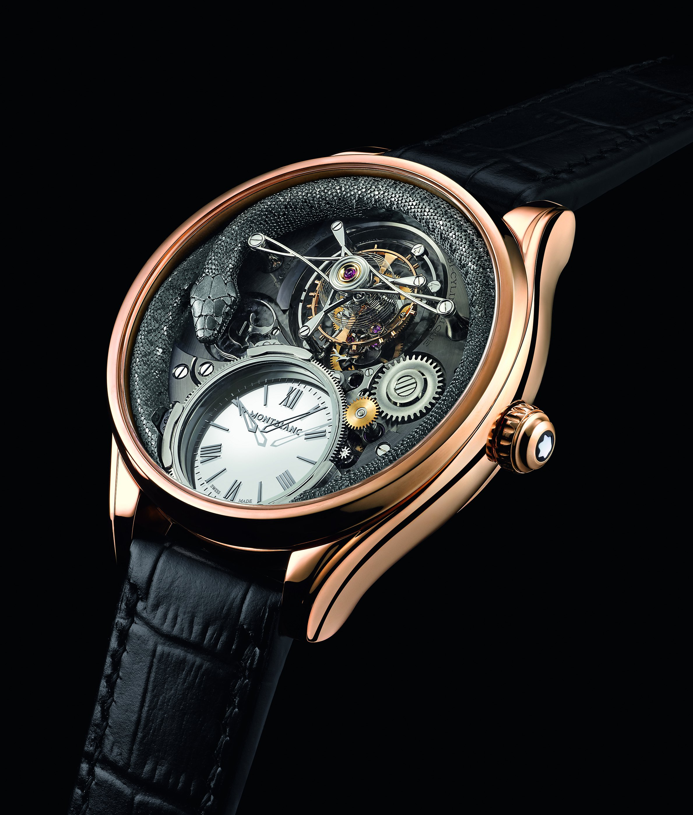 Montblanc Debuts The Villeret Tourbillon Bi-Cylindrique 110 Years Anniversary Replica Watch