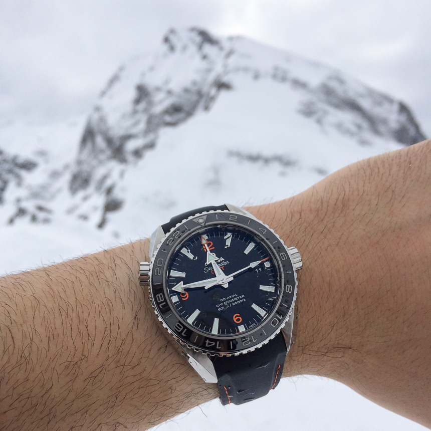 Omega Seamaster Planet Ocean 600m GMT replica watch review