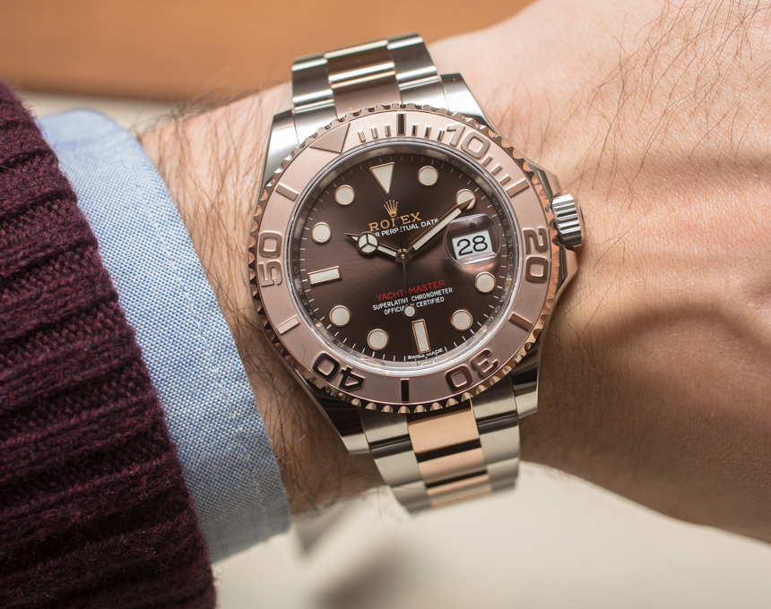 Hands-on Rolex Classic Yacht-Master 40 Replica Watch