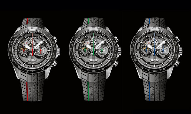 Take A Look At The Graham Silverstone RS Skeleton 46mm Chronograph Replica