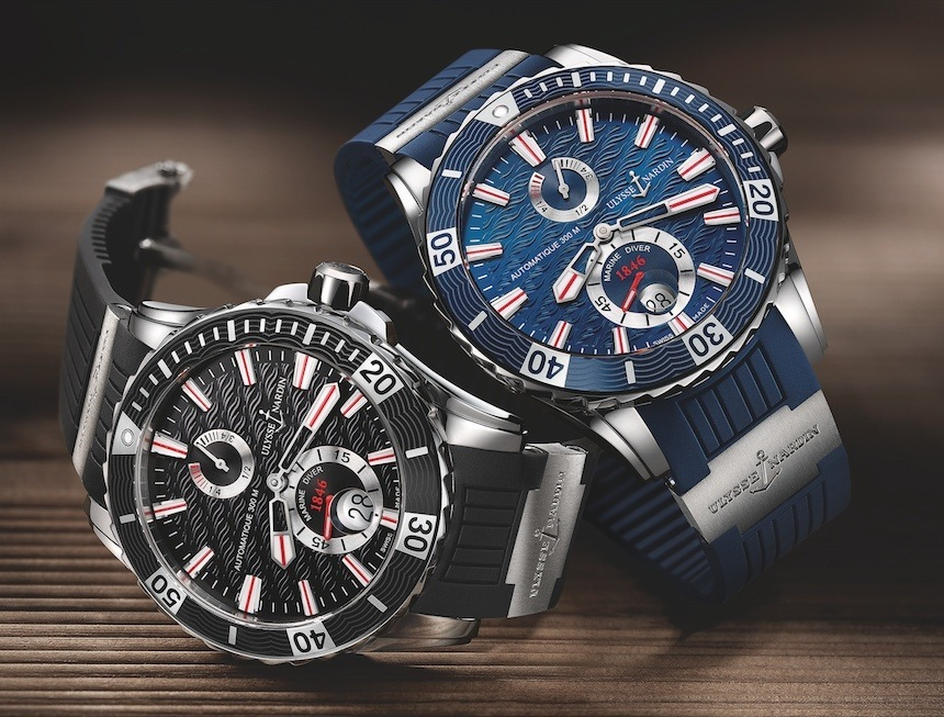 A Luxurious Version Of Ulysse Nardin Marine Diver Mens Replica