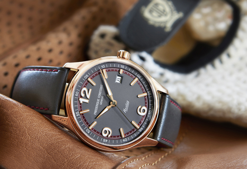 The Gorgeous Frederique Constant Vintage Rally Mens Replica