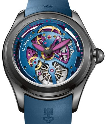 Corum Bubble 47 Squelette Watch In Bright Colors For 2017 Watch Releases